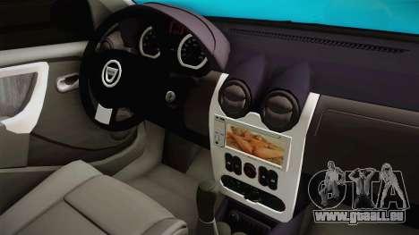 Dacia Logan Stance Haur Edition für GTA San Andreas Seitenansicht
