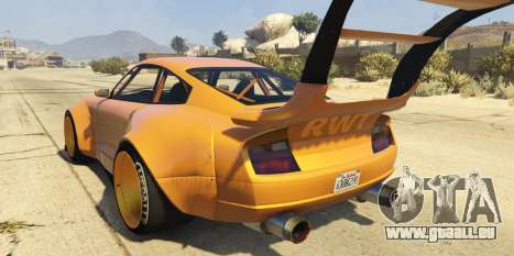 Pfister Comet Widebody für GTA 5