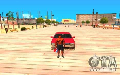 Summer Colormod pour GTA San Andreas deuxième écran