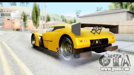 GTA 5 Annis RE-7B für GTA San Andreas zurück linke Ansicht