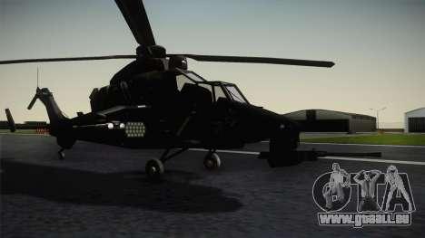 Eurocopter Tiger für GTA San Andreas rechten Ansicht