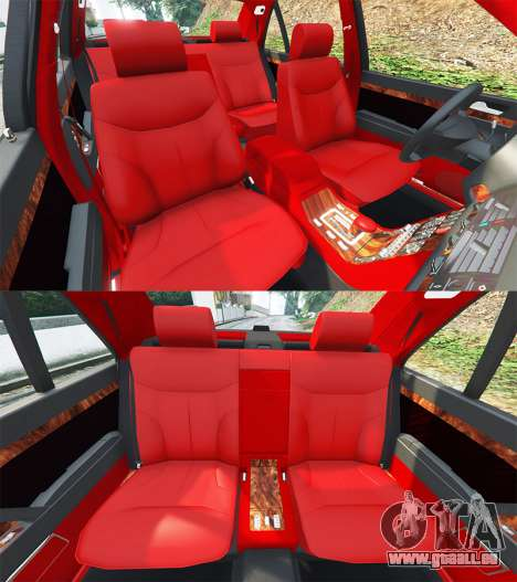 GTA 5 Mercedes-Benz W140 AMG orange signals [replace] Lenkrad