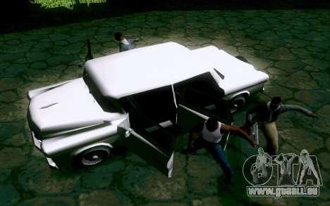 Walton Sedan pour GTA San Andreas vue arrière