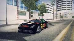 Ferrari F12 Berlinetta чёрный pour GTA San Andreas