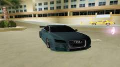 AUDI A7 SPORTS pour GTA Vice City