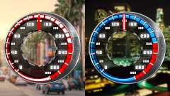 Tacho GTA SA Stil V4x3