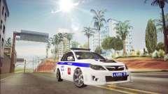 Subaru Impreza WRX STI Police