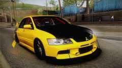 Mitsubishi Lancer Evolution IX Tuned für GTA San Andreas