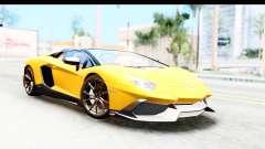 Lamborghini Aventador LP720-4 Roadster 2013 pour GTA San Andreas