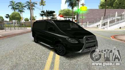 Mercedes-Benz Vito чёрный für GTA San Andreas