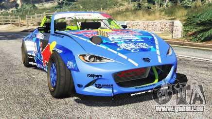 Mazda MX-5 (ND) RADBUL Mad Mike [replace] pour GTA 5