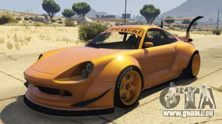 Pfister Comet Widebody pour GTA 5