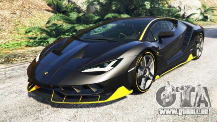 Lamborghini Centenario LP770-4 2017 [add-on] für GTA 5