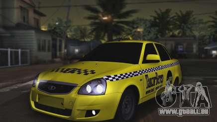 Lada Priora Taxi-Der Wind für GTA San Andreas