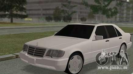 Mercedes-Benz W140 600sel pour GTA San Andreas