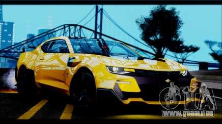 Chevrolet Camaro SS 2016 Bumblebee TF 5 pour GTA San Andreas