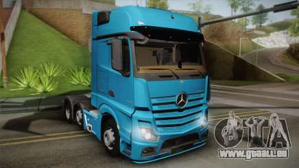 Mercedes-Benz Actros Mp4 6x2 v2.0 Gigaspace pour GTA San Andreas