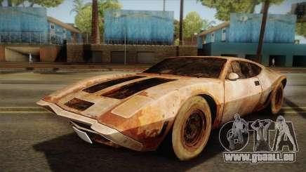AMC AMX 3 39 1970 Rust pour GTA San Andreas