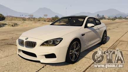 BMW M6 F13 Coupe 2013 pour GTA 5
