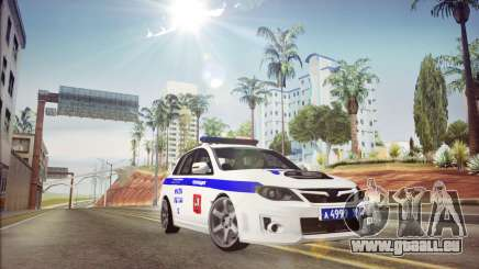 Subaru Impreza WRX STI Police für GTA San Andreas