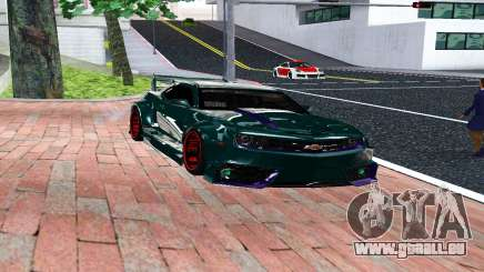 CHEVROLET CAMARO SS LIGHT TUNING pour GTA San Andreas