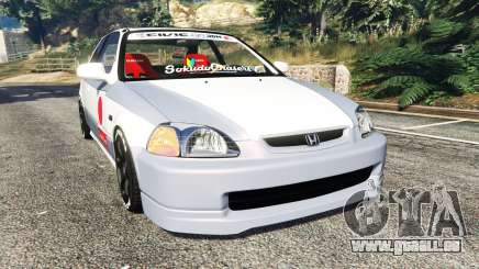 Honda Civic EK9 [kanjo edition] [replace] pour GTA 5