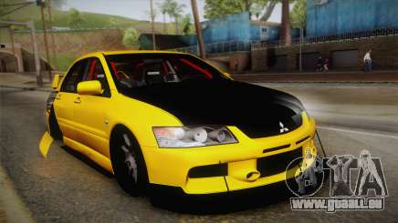 Mitsubishi Lancer Evolution IX Tuned für GTA San Andreas