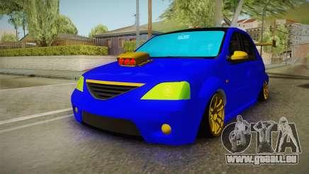 Dacia Logan Stance Haur Edition für GTA San Andreas