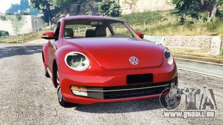 Volkswagen Beetle Turbo 2012 [replace] pour GTA 5