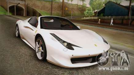 Ferrari 458 Spider pour GTA San Andreas
