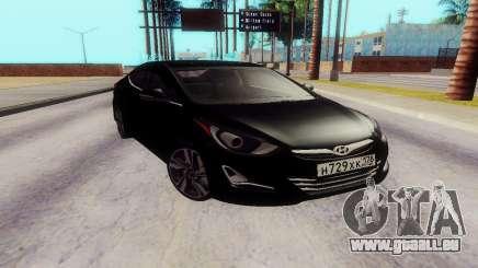 Hyundai Elantra 2015 pour GTA San Andreas