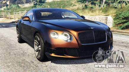 Bentley Continental GT 2012 [replace] für GTA 5