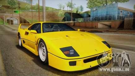 Ferrari F40 (EU-Spec) 1989 IVF pour GTA San Andreas