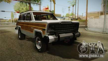 Jeep Grand Wagoneer Limite 1986 pour GTA San Andreas