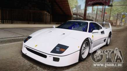 Ferrari F40 (EU-Spec) 1989 HQLM für GTA San Andreas