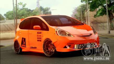 Honda Fit 2009 Rocket Bunny für GTA San Andreas