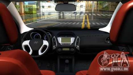Hyundai ix35 Aze für GTA San Andreas Rückansicht