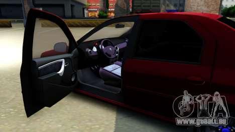 Renault Logan für GTA San Andreas Innenansicht