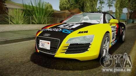 Audi R8 Coupe 4.2 FSI quattro EU-Spec 2008 YCH pour GTA San Andreas roue