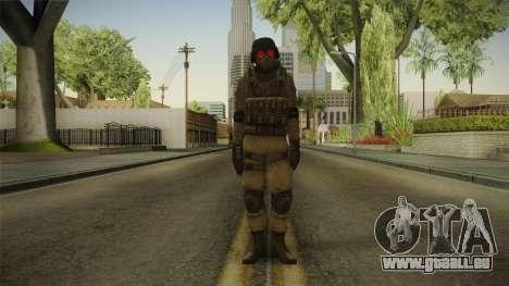 Resident Evil ORC - USS v3 pour GTA San Andreas deuxième écran