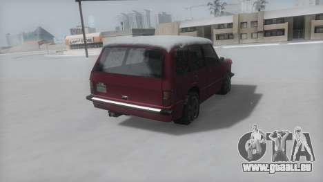 Huntley Winter IVF für GTA San Andreas linke Ansicht
