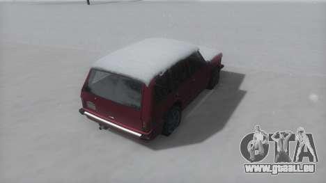 Huntley Winter IVF für GTA San Andreas zurück linke Ansicht