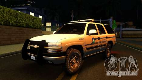 2004 Chevy Tahoe State Wildlife pour GTA San Andreas
