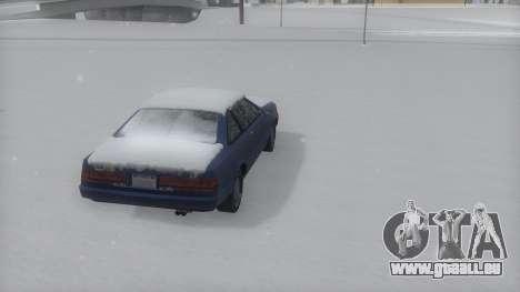 Cadrona Winter IVF pour GTA San Andreas laissé vue
