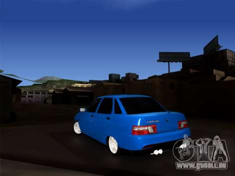 VAZ 2110 BPAN für GTA San Andreas zurück linke Ansicht