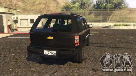 GTA 5 Chevrolet Blazer 4x4 hinten links Seitenansicht