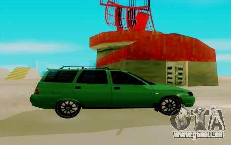 VAZ 2111 für GTA San Andreas zurück linke Ansicht