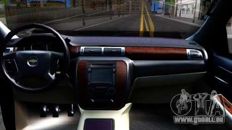 Chevrolet HD 3500 2013 für GTA San Andreas Innenansicht