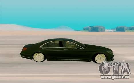 Mercedes Benz S63 für GTA San Andreas linke Ansicht