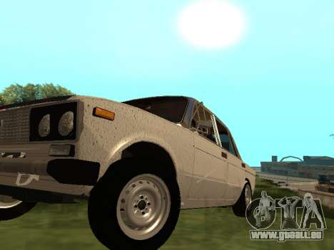 VAZ 2101 (06) Garage 54 pour GTA San Andreas vue arrière